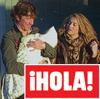 En la revista ¡HOLA!: Paulina Rubio y Nicolás juntos con su hijo en Los Ángeles