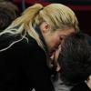 Besos, caricias, abrazos… Shakira y Piqué vuelven a demostrar su amor en público