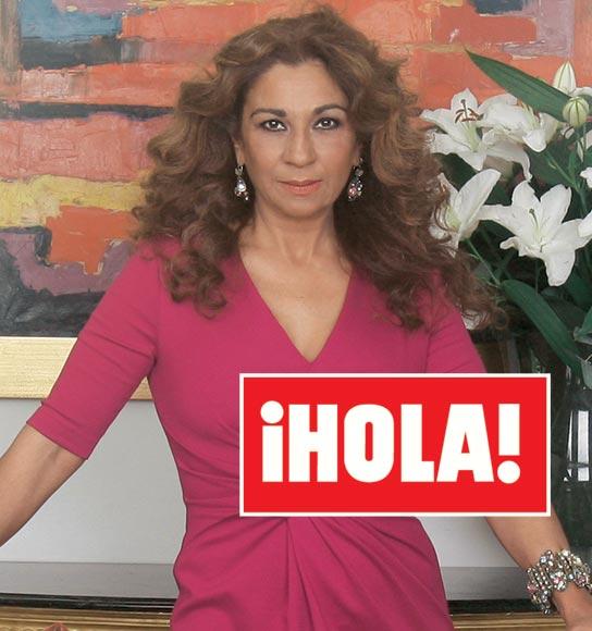 En ¡HOLA! entrevista exclusiva con Lolita Flores, un año después de su boda y de actualidad por su delicada situación económica