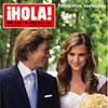 Fotografías exclusivas en ¡HOLA!: Carlos Baute se ha casado en secreto y en Letonia, la tierra familiar de su novia, Astrid Klisans
