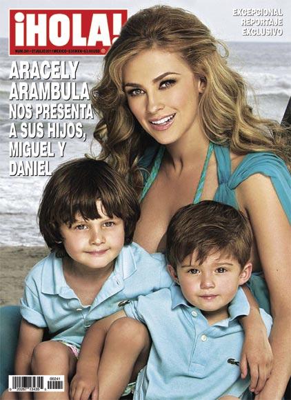 En la revista ¡HOLA! México de esta semana, Aracely ...