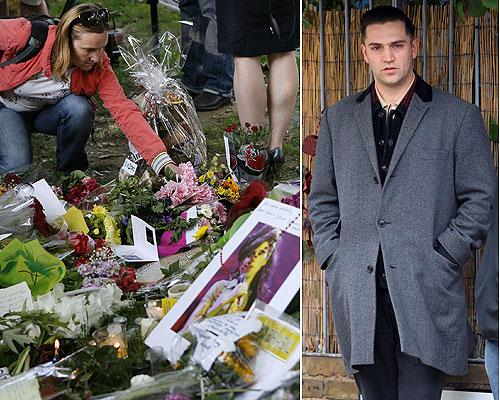 Los padres de Amy Winehouse visitan entre lágrimas el apartamento de su hija en el barrio londinense de Camden: 'Estamos destrozados'