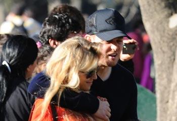Michael Buble y Luisana Lopilato, en eterna luna de miel tras cinco meses de casados