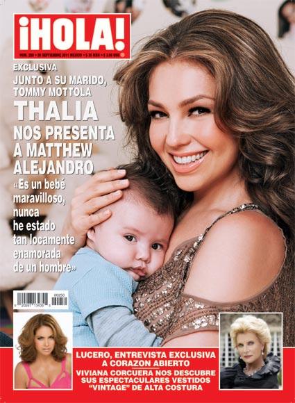Thalia segundo bebe fotos 53