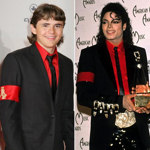 Prince, hijo de Michael Jackson, rinde homenaje a su padre con un 'look' en rojo y negro inspirado en el 'rey del pop'
