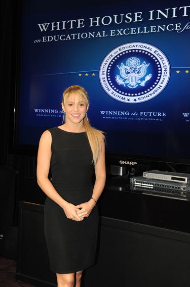 Shakira se estrena como asesora de la Casa Blanca y Piqué la felicita por su nuevo cargo: 'Tan orgulloso de ti'