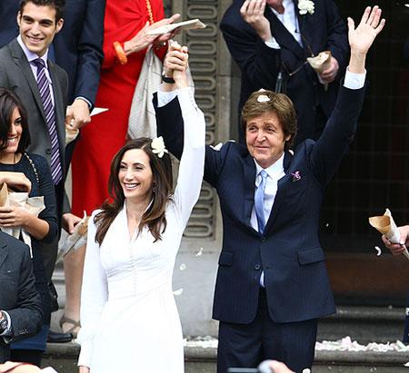 Boda de Paul McCartney y Nancy Shevell