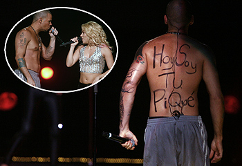 Shakira encuentra en Puerto Rico a un 'particular' Piqué