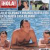 En ¡HOLA!: Julio Iglesias y Miranda, nueva vida en su casa de Miami