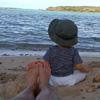 Paulina Rubio, días de descanso y playa con el 'sol' de su vida, su hijo Andrea Nicolás