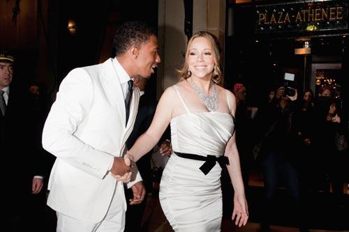 Mariah Carey y Nick Cannon renuevan sus votos matrimoniales en París