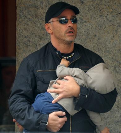 Eros Ramazzotti, un 'super papá' en la ciudad