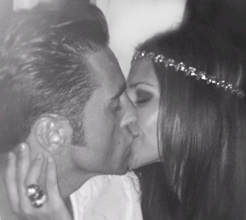 Paula Echevarría a David Bustamante: 'Feliz aniversario, amor'
