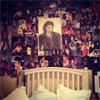 Paris Jackson convierte el cabecero de su cama en un santuario en honor a su padre