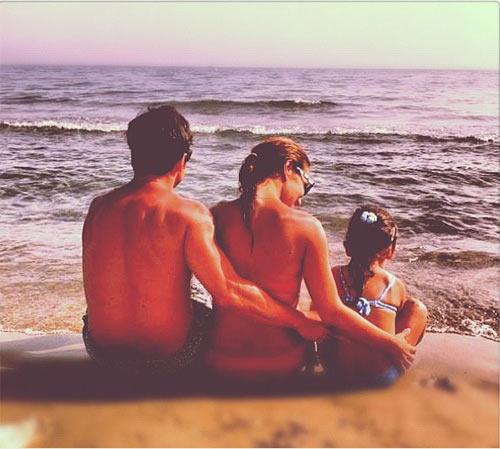 David Bustamante nos regala la imagen más bonita de sus vacaciones en familia