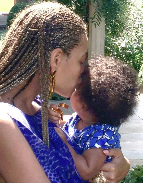 Beyoncé nos regala sus momentos íntimos con su hija