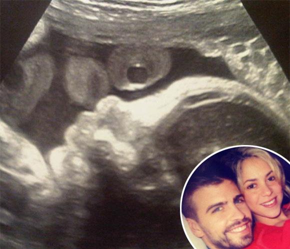 Gerard Piqué nos regala la primera 'foto' de su hijo
