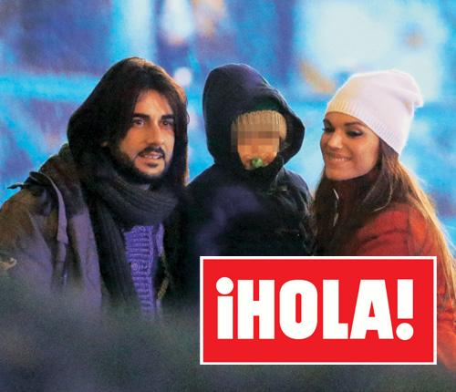 En ¡HOLA!: Melendi con su familia en París