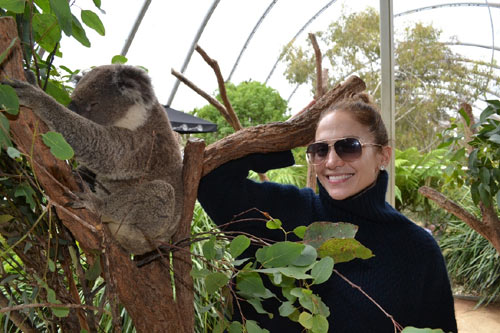 Jennifer López, amor a toda vela en Australia