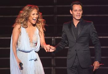 Jennifer López vuelve a compartir escenario con Marc Anthony: 'Aunque el amor termina, la música sigue'