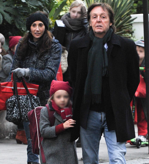 Paul McCartney, un cariñoso padrazo con su hija Beatrice