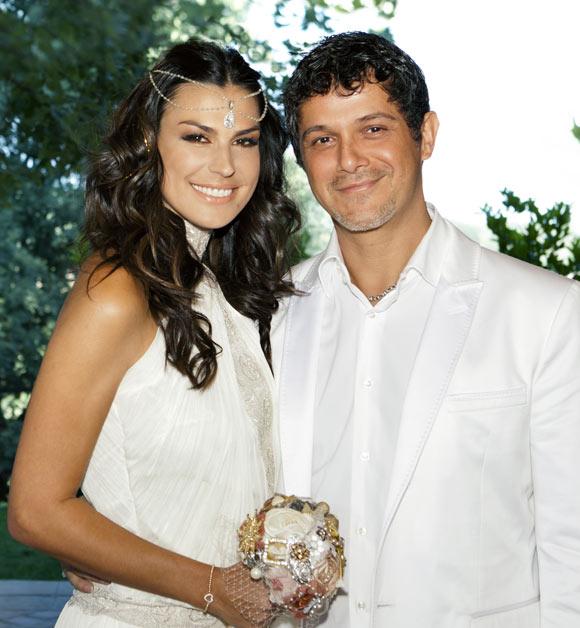 Alejandro Sanz a Raquel Perera: 'Adoro nuestra familia y te adoro a ti'