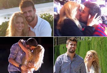Shakira y Piqué, su historia de amor en imágenes