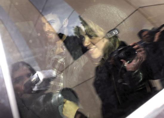Shakira y Piqué ya están en casa con el pequeño Milan