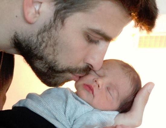 Foto del bebe de Shakira
