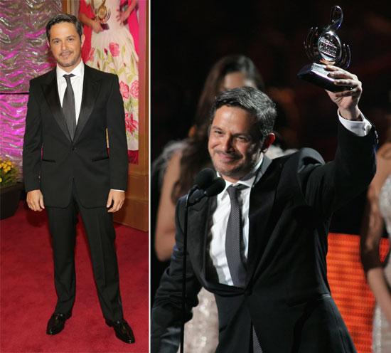 Alejandro Sanz brilla en la entrega de los Premios Lo Nuestro en Miami