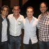 Verdasco, Ferrer y Almagro se van de concierto con David Bisbal