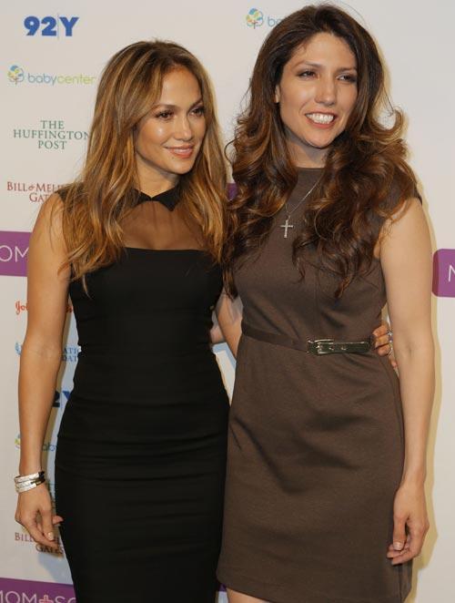 Jennifer López, fan por un día de su hermana Lynda