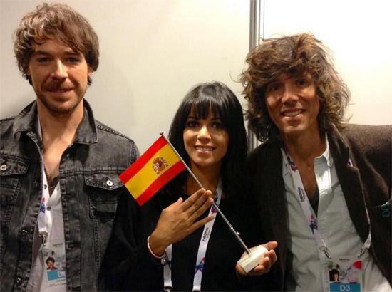 El Sueño de Morfeo, 'contentos' con su primer ensayo en Eurovisión