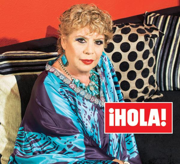 En ¡HOLA!: María Jiménez, sorprendente revelación: 'Me han operado de un tumor en el pecho'