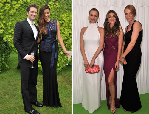 Bellezas de gala y un anuncio de compromiso, Elton John ejerce de anfitrión del White Tie and Tiara Ball