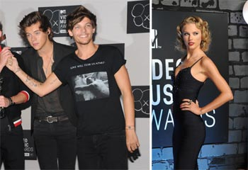 El 'mensaje' de Taylor Swift a Harry Styles, el regreso de N Sync... las anécdotas de los premios MTV Video