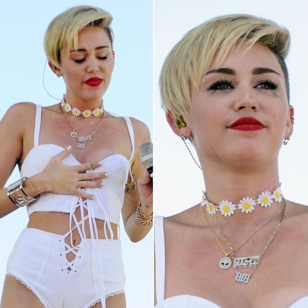 Miley Cyrus rompe a llorar tras su ruptura con Liam Hemsworth