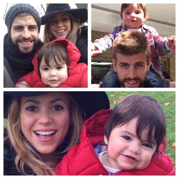 Shakira piqu y el peque o milan d as de turismo risas for Hoteles familiares en londres