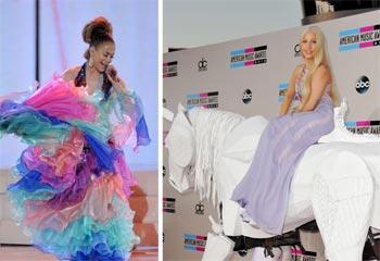 Lady Gaga, Miley Cyrus, Katy Perry y Jennifer López, las 'fieras'