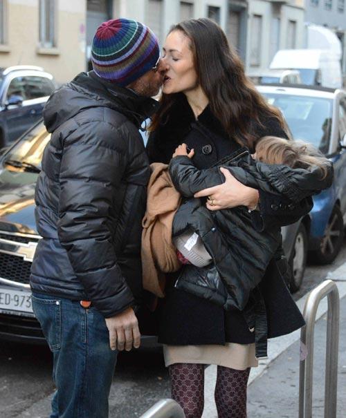 Eros Ramazzotti celebra el 17 cumpleaños de su hija Aurora