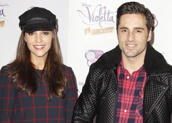 David Bustamante y Paula Echevarría, Estefanía Luyk, Nieves Álvarez... fans de 'Violetta'