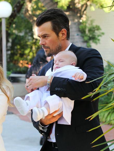Fergie y Josh Duhamel bautizan a su precioso bebé, Axl Jack