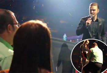 '¿Quieres casarte con él?' Las estrellas ayudan a sus fans a dar un paso hacia el altar