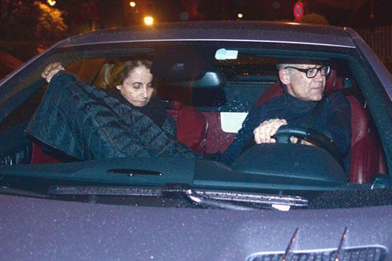 Joan Piqué y Montserrat Bernabéu, padres de Gerard Piqué, tampoco faltaron a la primera fiesta de cumpleaños de su nieto, Milan