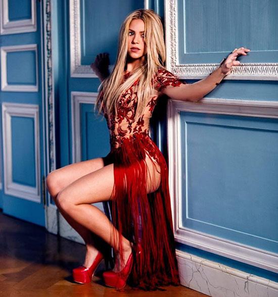 Shakira prepara el lanzamiento de su nuevo disco, 'Shakira', para el próximo 25 de marzo