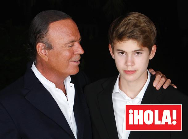 Tras su presentación en la revista ¡HOLA!, Rodrigo Iglesias es acogido con entusiasmo en las redes sociales