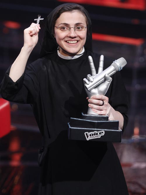 Talento e intervención divina a partes iguales... ¡Sor Cristina gana 'La Voz'!