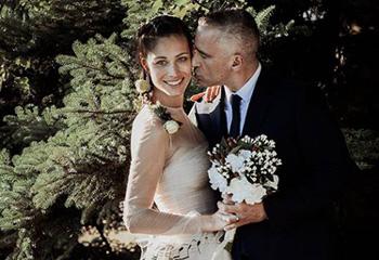 La musical boda de Eros Ramazzotti y Marica Pellegrinelli