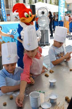 Fonsi Nieto y Alberto Herreros se convierten en pasteleros por un día