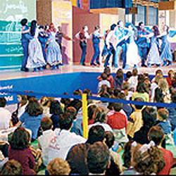 Navidades divertidas en Juvenalia 2005
